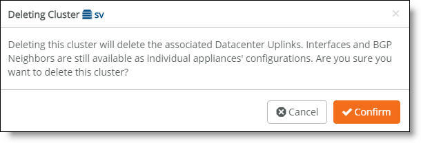 Data Center Gateway Clusters