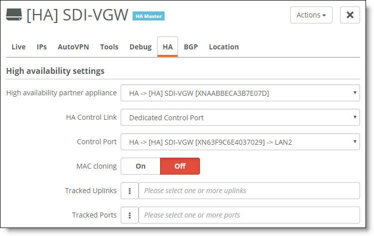 Configuring High Availability